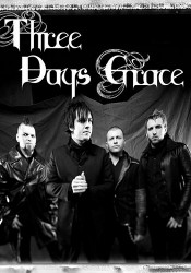 THREE DAYS GRACE в Москве!