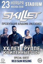 SKILLET | UNLEASHED TOUR 2016 в Москве!