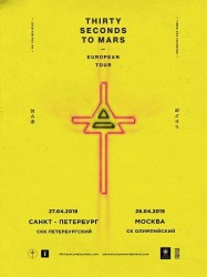 Билеты на THIRTY SECONDS TO MARS в Санкт-Петербурге!