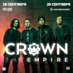 Crown The Empire в Санкт-Петербурге!